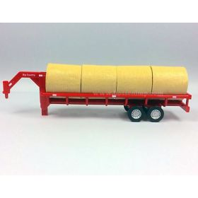 1/20 Trailer Round Bale Carrer with bales