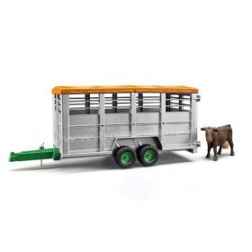 1/16 Trailer Livestock with cow