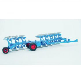 1/16 Lemken Plow 8 Bottom Semi mtd, Reversible, plastic