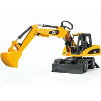 1/16 Caterpillar Excavator, Wheeled, plastic