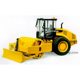 1/16 Caterpillar Compactor Roller with Blade