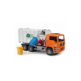 1/16 MAN TGA Garbage Truck Side Loading