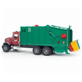 1/16 Mack Granite Garbage Truck, Rear Loading