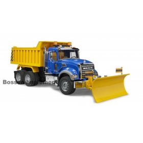 1/16 Mack Granite Dump Truck with Snow Plow Blade