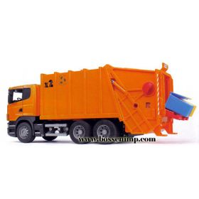 1/16 Scania R-Series Garbage Truck orange