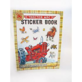 Book Tractor Mac Sticker Book