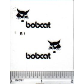 "Decal Bobcat Logo 1 1/4"" (black)"