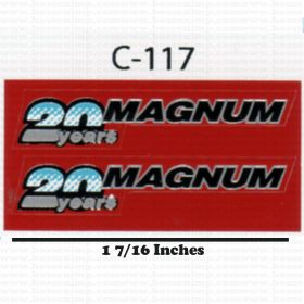 Decal 1/16 Case IH 20 years Magnum
