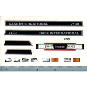 Decal 1/16 Case IH 7130 Magnum Set (late version)