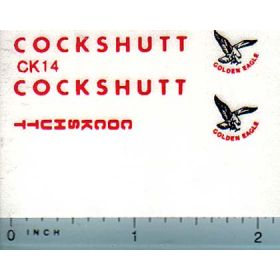Decal 1/16 Cockshutt Golden Eagle Set