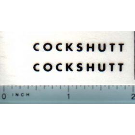 Decal 16 Cockshutt 540 (black)