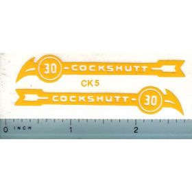 Decal 1/16 Cockshutt 30 Steerable Stripe