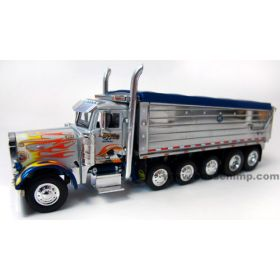 1/64 Peterbilt 379 with Chrome Dump Box '14 TTC