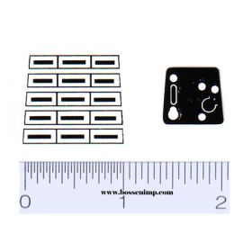 Decal 1/12 Ford LGT Grille & Dash Set