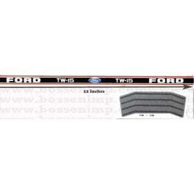 Decal 1/12 Ford TW-15 Set (black &orange stripe)