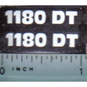 Decal 1/16 Hesston 1180DT Model #