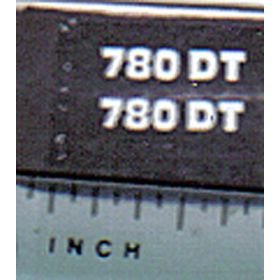 Decal 1/32 Hesston 780DT Model #
