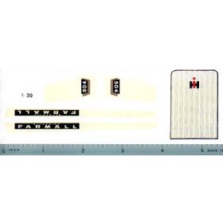 Decal 1/16 Farmall 504 Set (544 conversion)