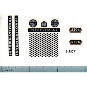 Decal 1/16 International 2504 Industrial Set
