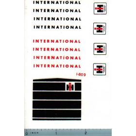 Decal 1/16 International Loader/Bachoe Set