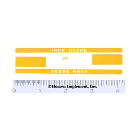 Decal 1/16 John Deere 420 Crawler or 320 K&G Set