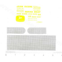 Decal 1/16 John Deere Combine 105EB & 634 Set