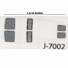 Decal 1/64 John Deere 8R hood screens