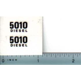 Decal 1/16 John Deere 5010 Diesel Model Numbers