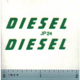 Decal Diesel for Pedal Tractors