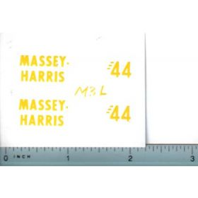 Decal 1/16 Massey Harris 44 Set (Lincoln)