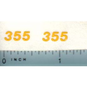 Decal 1/16 New Holland Grinder Mixer 355 Model Numbers