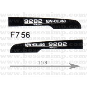 Decal 1/64 New Hollad 9282 Hood Panels