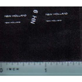 Decal 1/64 New Holland (white)