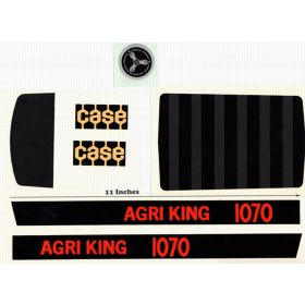Decal Case 1070 Agri King Pedal Tractor  Water Transfer