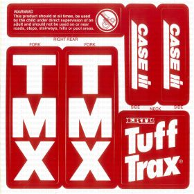 Decal Case IH Truff Trax Trike