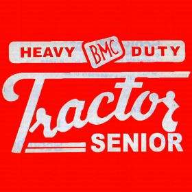 Decal BMC Heavy Duty Tractor