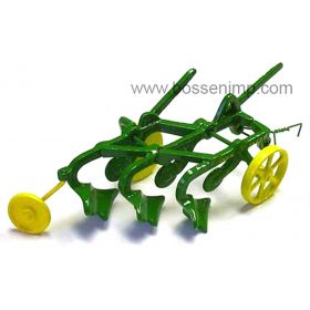 1/16 John Deere 3B Plow Cast Iron Reproduction