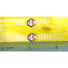 Decal 1/16 Tru Scale Implement logo Decals