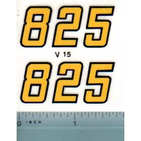 Decal 1/16 Versatile 825 Series 2 Mo. # (early)
