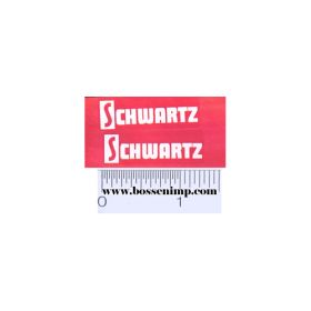 Decal Schwartz (Pair)