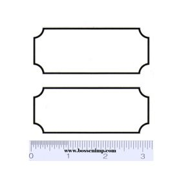 Decal Black Stripes (Pair)
