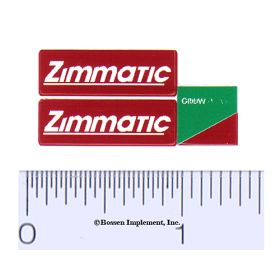 Decal 1/16 Zimmatic