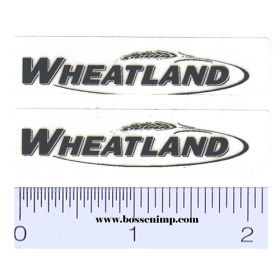 Decal 1/64 Wheatland Set of 2