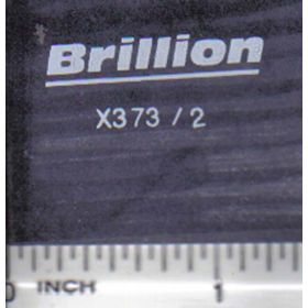 Decal 1/16 Brillion - White