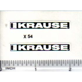 Decal 1/16 Krause