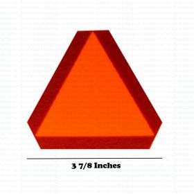 Decal SMV Slow Moving Vehicle for Pedal Tractor