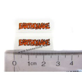Decal 1/64 Earthauake (Orange)