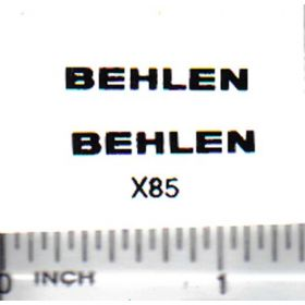 Decal Behlen Grain Bin 7/8in.