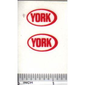 Decal York Grain Bin 7/8in.