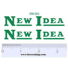 Decal 1/08 New Idea Mower